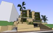 בניין קונדומיניום בקליפורניה